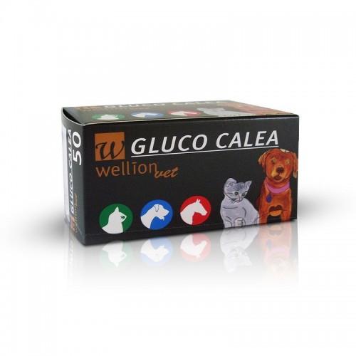 50 Tiras p/ Glucometro Gluco Calea
