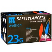 200 Lancetas 23G WELLION