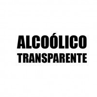 ALCOÓLICO Transparente